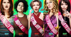 Rough Night Character Posters Introduce 5 Wild Ladies -- Scarlett Johansson leads an all-star cast of woman ready to party down in Rough Night. -- http://movieweb.com/rough-night-movie-2018-character-posters/