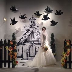 "MACY'S,Chicago,USA, ""I DO"", (The Traditional Church Wedding),photo by Sylvia Q., pinned by Ton van der Veer"