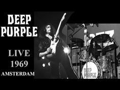 DEEP PURPLE - Live 1969This is hard rock before the days of hard rock Deep Purple, Hard Rock, Psychedelic Rock, Progressive Rock, Led Zeppelin, Rock Bands, Rock N Roll, Heavy Metal, Over The Years