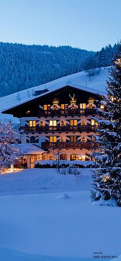 Switzerland ❆ My Chalet in Gstaad ❆