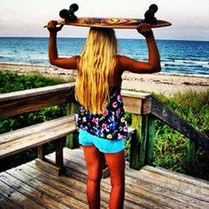 skateboard girl.