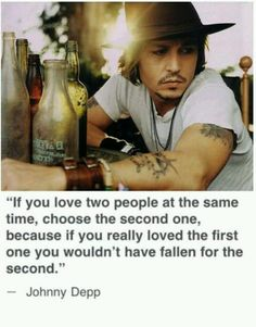 In the words of Johnny Depp. The Words, Great Quotes, Quotes To Live By, Inspirational Quotes, Awesome Quotes, Deep Quotes, Fabulous Quotes, Meaningful Quotes, Motivational Quotes