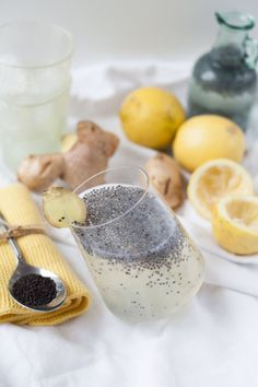 ginger-lemon drink