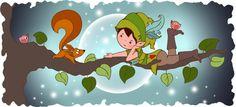 fairy-lutin-écureuil sur une branche_Créenfantin