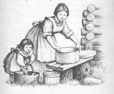 garth williams: ilustrações para little house on the prairie
