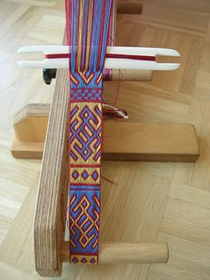 Tablet woven by Bettina Eichhorn