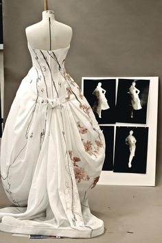 Haute Couture in the making - fashion behind the scenes; fashion atelier // Dior