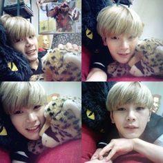 my love hansol. he's so cute