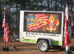 Acts of theft don't get much lower than stealing a troop trailer from Scouts. But it happens all the time. Here are some ways to ward off potential thieves.