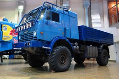 OMG – There Is A Crazy Kamaz 4911 Dakar Rally Truck For Sale On eBay