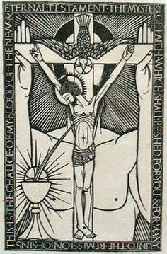 The Trinity with Chalice (1914) Eric Gill