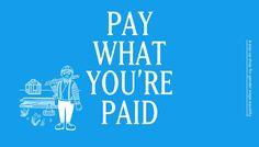 Wer weniger verdient, zahlt weniger #LessThan100Shop