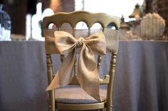Noeud de chaise en toile de jute