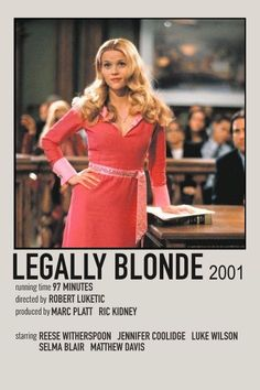 legally blonde movie print