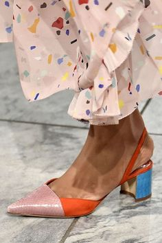 All of the statement shoes we're loving on the runway this season: