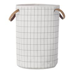 Grid Laundry Basket Tvättkorg | ferm LIVING | Länna Möbler | Handla online