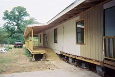 dulcy flowers (mobilehomedecks) on Pinterest on barn with ramp, trailer with ramp, brick home with ramp,