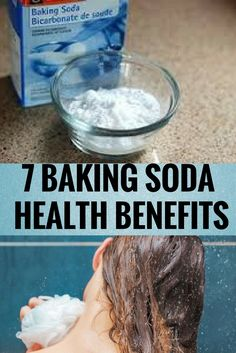 7 BAKING SODA HEALTH BENEFITS