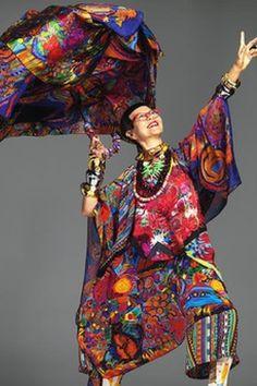 Jenny Kee - fabulous Australian designer