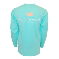 Gentle Southern Marsh Youth Authentic Long Sleeve Tee Clothing, Shoes, Accessories