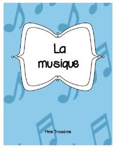 This package helps give the French Immersion teacher a good starting point to teach the basic elements of music and includes:-Title Page for student workbook-34 musical instruments picture/vocabulary flashcards-20 musical notation picture/vocabulary flashcards-Le tempo et les dynamiques :Tempo and Dynamics reference sheet-Mon instrument de musique: Students create their own homemade musical instrument (includes description handout and worksheet)-Mon rythme: Using the musical notation…
