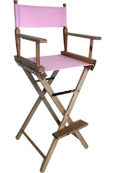 tall bar directors chair perfect for makeup artists u2013 personalise online - Tall Directors Chair