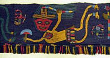 The textiles of ancient Peru were made by a people with an inordinate sensitivity to the complexities of structure, pattern, and color. Fortunately preserved through the centuries by the dry climate of the coastal region where they were interred, the fabrics retain much of this complexity today