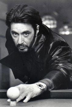 """Al Pacino~Shooting Pool~Pool Hall~Billiards~Playing Pool~Poster~20"""" x 30"""" Photo #decor"""