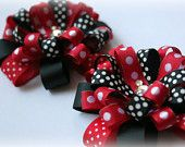 Minnie Mouse bows! on Etsy $5.99