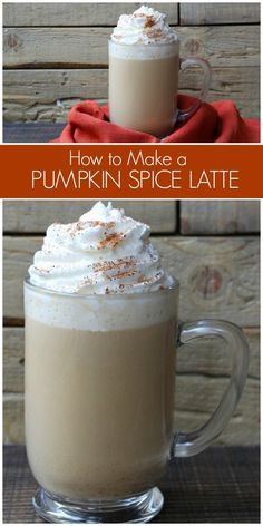 You'll want to know How to Make a Pumpkin Spiced Latte, so you can make these at home and save so much money during the fall months! Starbucks Pumpkin Spice Latte, Pumpkin Spiced Latte Recipe, Spiced Coffee, Pumpkin Recipes, Fall Recipes, Homemade Pumpkin Spice Latte, Homemade Coffee Creamer, Pumpkin Spice Coffee, Delicious Recipes