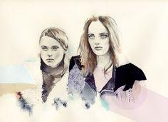 Natalia Sanabria // Fashion Illistration