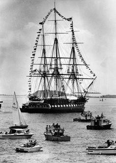 USS Constitution Turnaround 1981