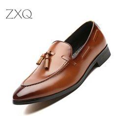 6f78af9937f3c Fashion Summer Style Moccasins Men Loafers High Quality Patent Leather  Tassel Slip On Shoes Men Flats