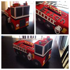 My PreK kiddo wanted a fire truck Valentine's Box ❤️ Valentine Boxes For School, Valentine Crafts For Kids, Valentines For Boys, Crafts For Kids To Make, Valentines Day Party, Valentine Decorations, Valentine Ideas, Kids Crafts, Holiday Fun
