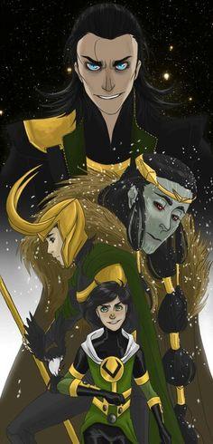 Loki art...
