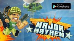 Click pin to read post: MAJOR MAYHEM NOW AVAILABLE FOR FREE ON ANDROID