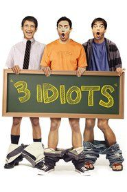 "3 Idiots movie poster - the tradition of ""Ferris Bueller's Day Off"" comes this refreshing comedy about a rebellious prankster with a crafty mind and a heart of gold. You've never met a college student quite like \ Comedy Movies, Hd Movies, Movies To Watch, Movies Online, Movie Tv, Movies Free, Movie 3 Idiots, 3 Idiots 2009, Pixar"