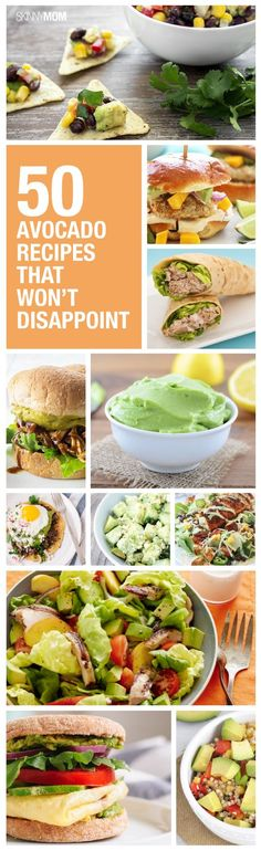 Spice up your avocado dishes with these healthier options instead. Click through for the 50 amazing avocado recipes!