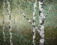 Birch trees: Melissa Mckinnon