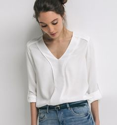 Blouse chic Femme