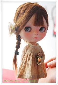 book Blythe pouting