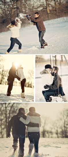 Winter Engagement pics!