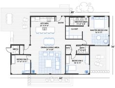 Love this floor plan, very efficient..... and green