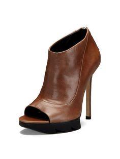 Open-Toe Platform Ankle Boot - Camilla Skovgaard #Gilt