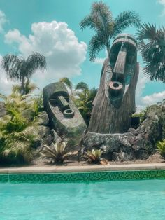 A Thrilling Escape to Paradise at Universal's Volcano Bay – Tripping with my Bff Cool Places To Visit, Places To Travel, Universal Studios Theme Park, Tiki Head, Volcano Bay, Orlando Parks, Tiki Lounge, Tiki Mask, Tiki Room