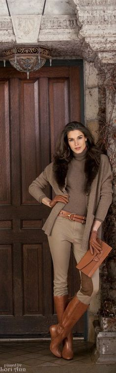 Model: Chiara Baschetti for Ralph Lauren Fall 2012