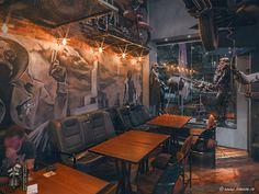 BUNKER a theme Restaurant-Bar set into the post-apocalyptic future , Slovenia