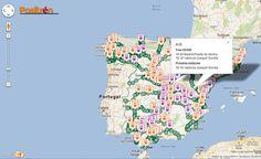 Positrén, un mashup de Google Maps que geolocaliza trenes sobre la geografía española