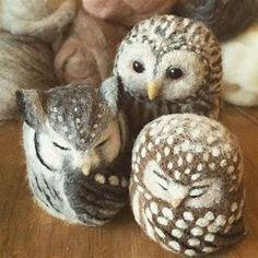 25+ best ideas about Needle Felted Owl on Pinterest ...
