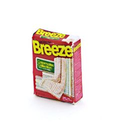 Breeze Laundry Detergent with free towel inside the box
